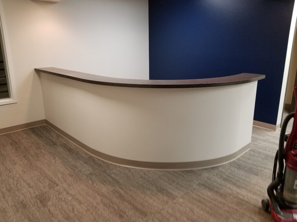 Custom Commercial Front Desk