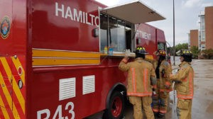 Hamilton Fire Department Food Truck