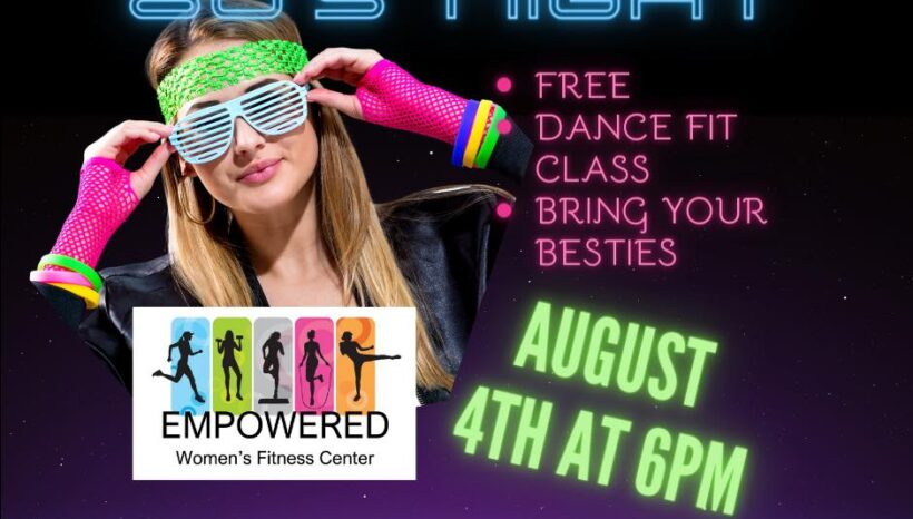 FREE DANCE FIT CLASS on 8/4/21 @ 6PM with Michayla