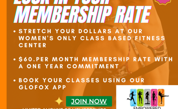$60 Per Month Membership with a ONE Year commitment