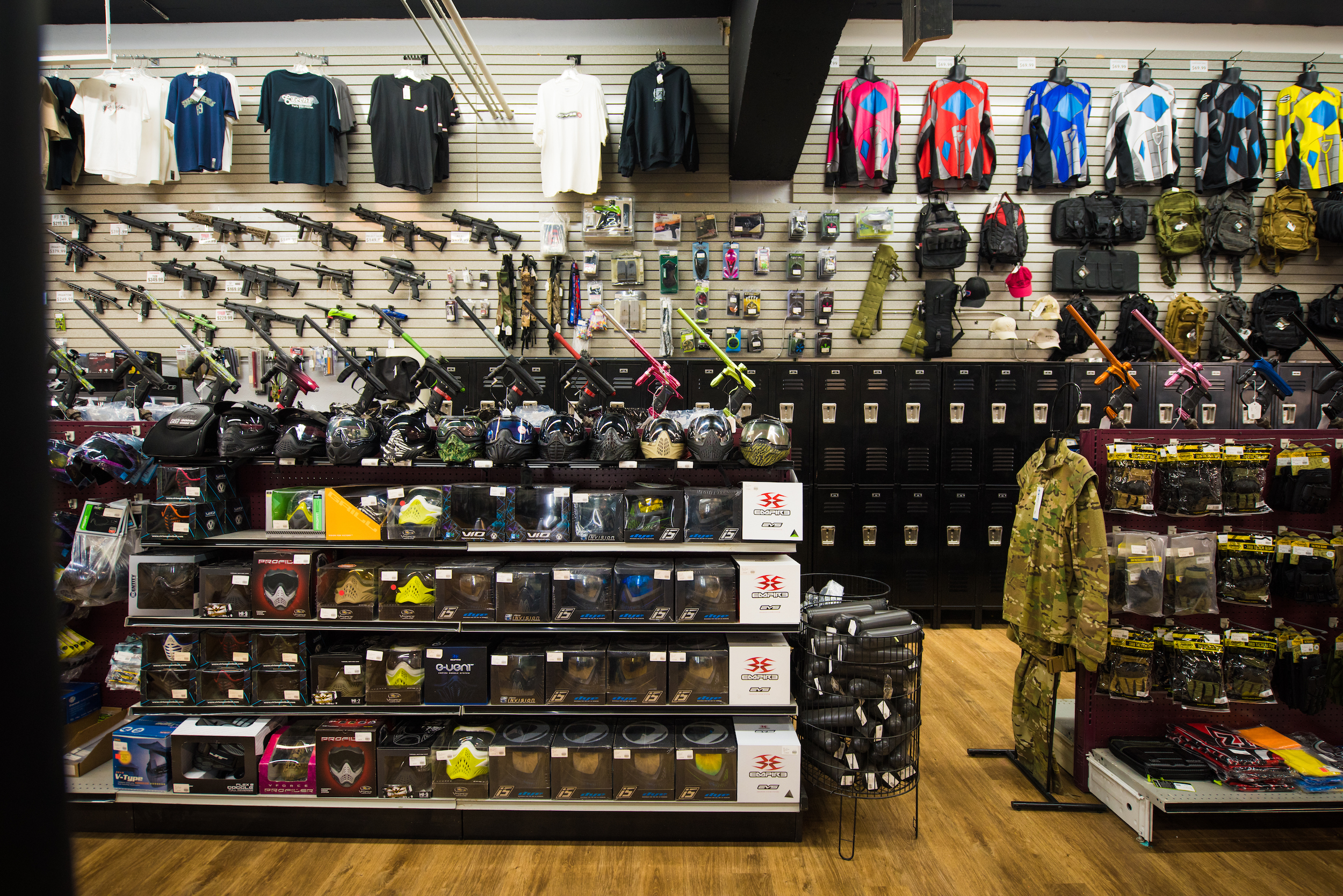 Wide store shot middle