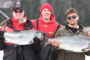 Dr. Brian Haas and Son Salmon Fishing in British Columbia
