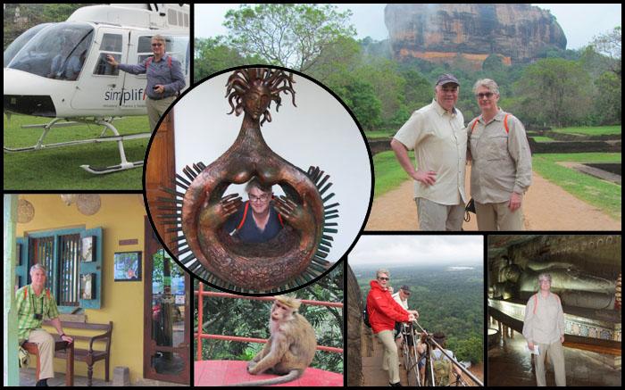 Dr. Haas of Orlando was in Sri Lanka