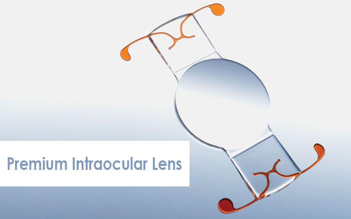 premium cataract surgery with intraocular lens