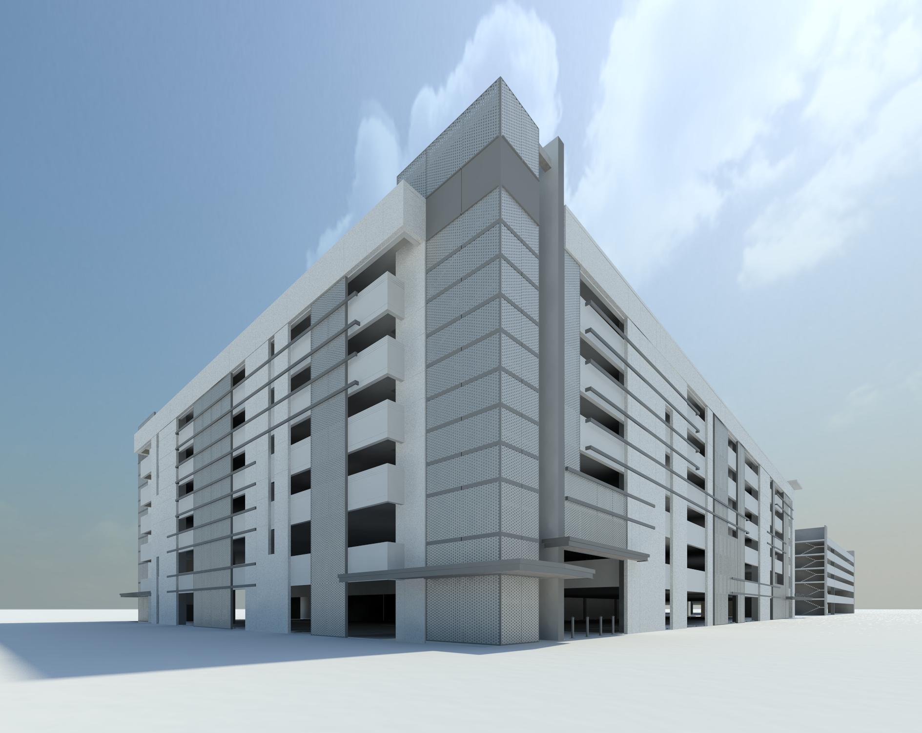 Memorial West Parking Garage