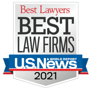 Best Lawyers 2021 from US News & World Report