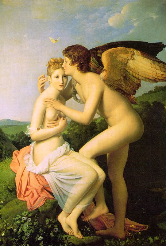 Psyche and Eros by Francois Gerard