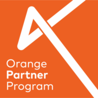 Vertafore Orange Partner Logo