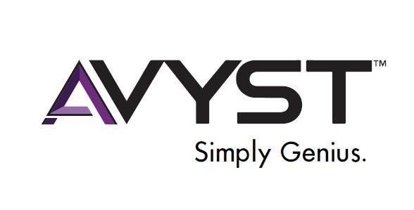 AVYST Simply Genius logo