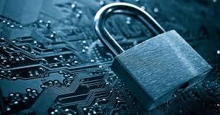 Photo of lock on computer memory board