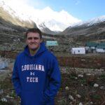 Photo of Josh Zylks in the mountains