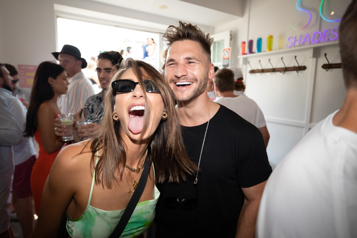 SODA Shades Sunnies eyewear New Years Day Party Stephanie Miller Josh Miller Sydneyshot by ned simes nedyo-55