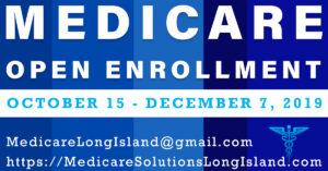 Medicare annual open enrollment 2019