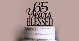 65th birthday Medicare letter