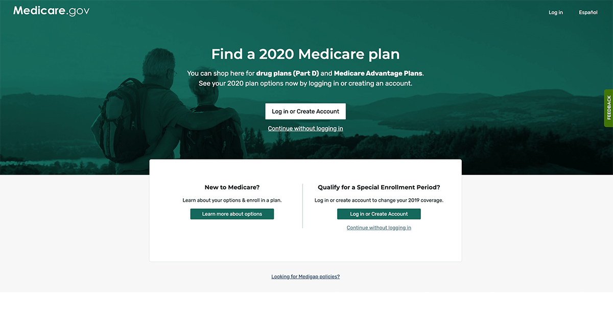 medicare.gov plan finder