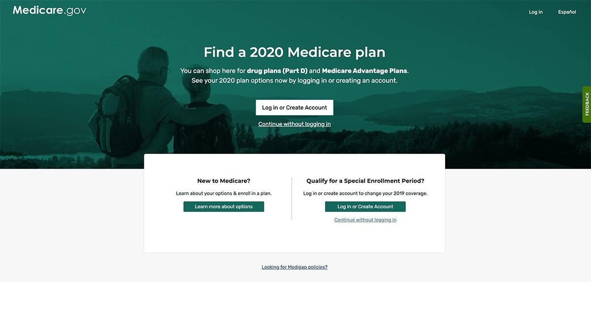 medicare.gov plan finder