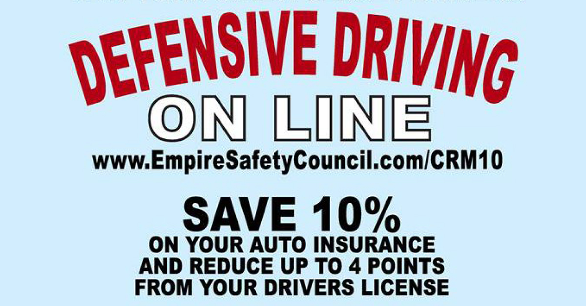 online defensive driving classes