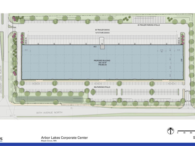 2019-01-23_Arbor Lakes Corporate Center_Colored Site Plan1024_1