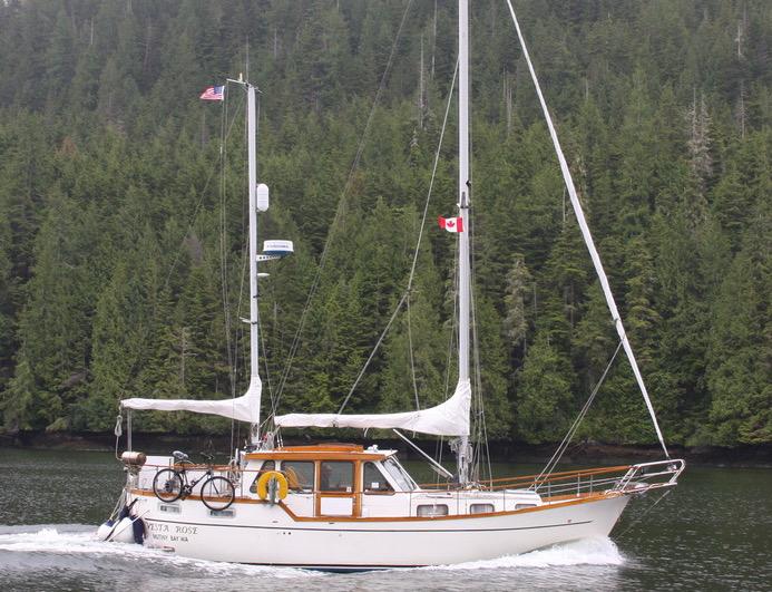 1986 Nauticat 33 Pilothouse Ketch Sailboat