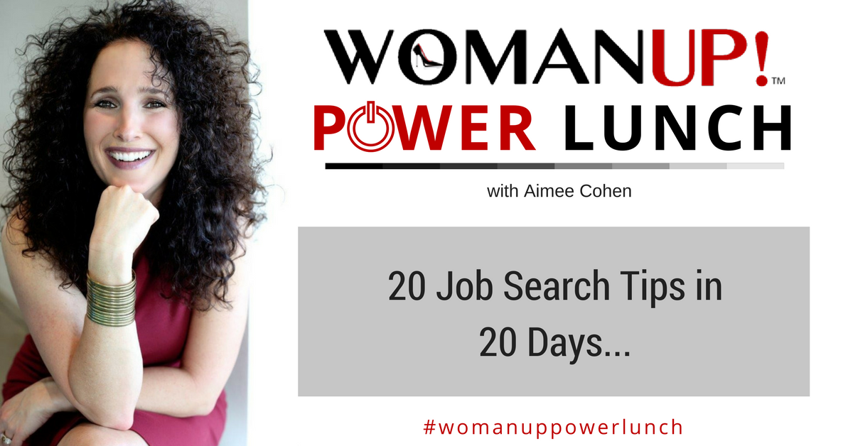 20 Job Search Tips In 20 Days