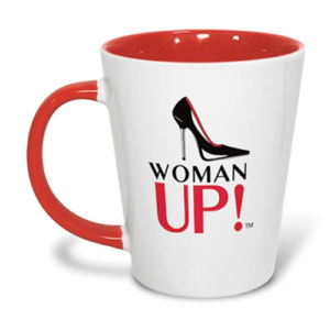 WOMAN UP! Latte Mugs