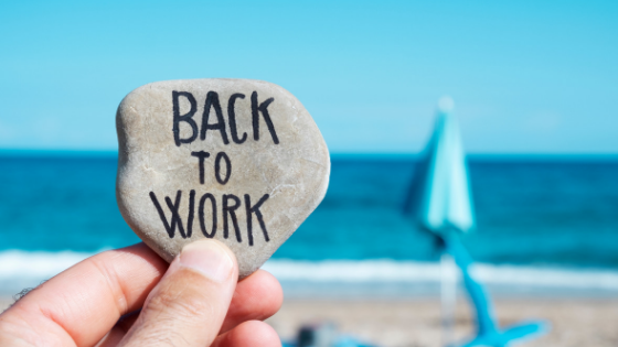 8 Ways to Get Back to Work After Labor Day