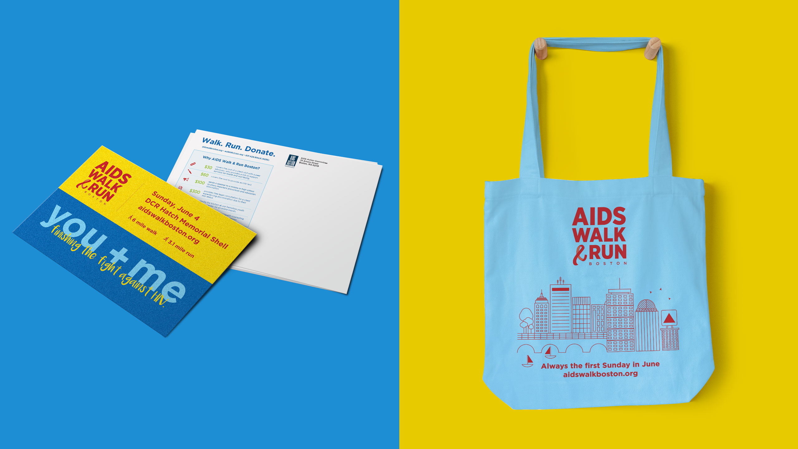 AIDS Walk Boston Collateral Set 2