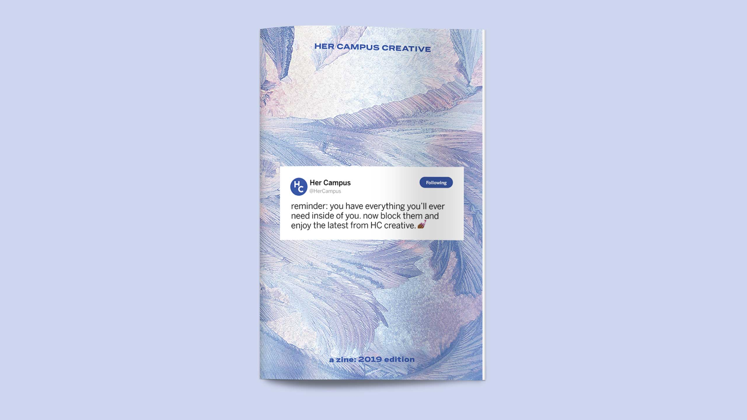 Her Campus Creative Zine Cover