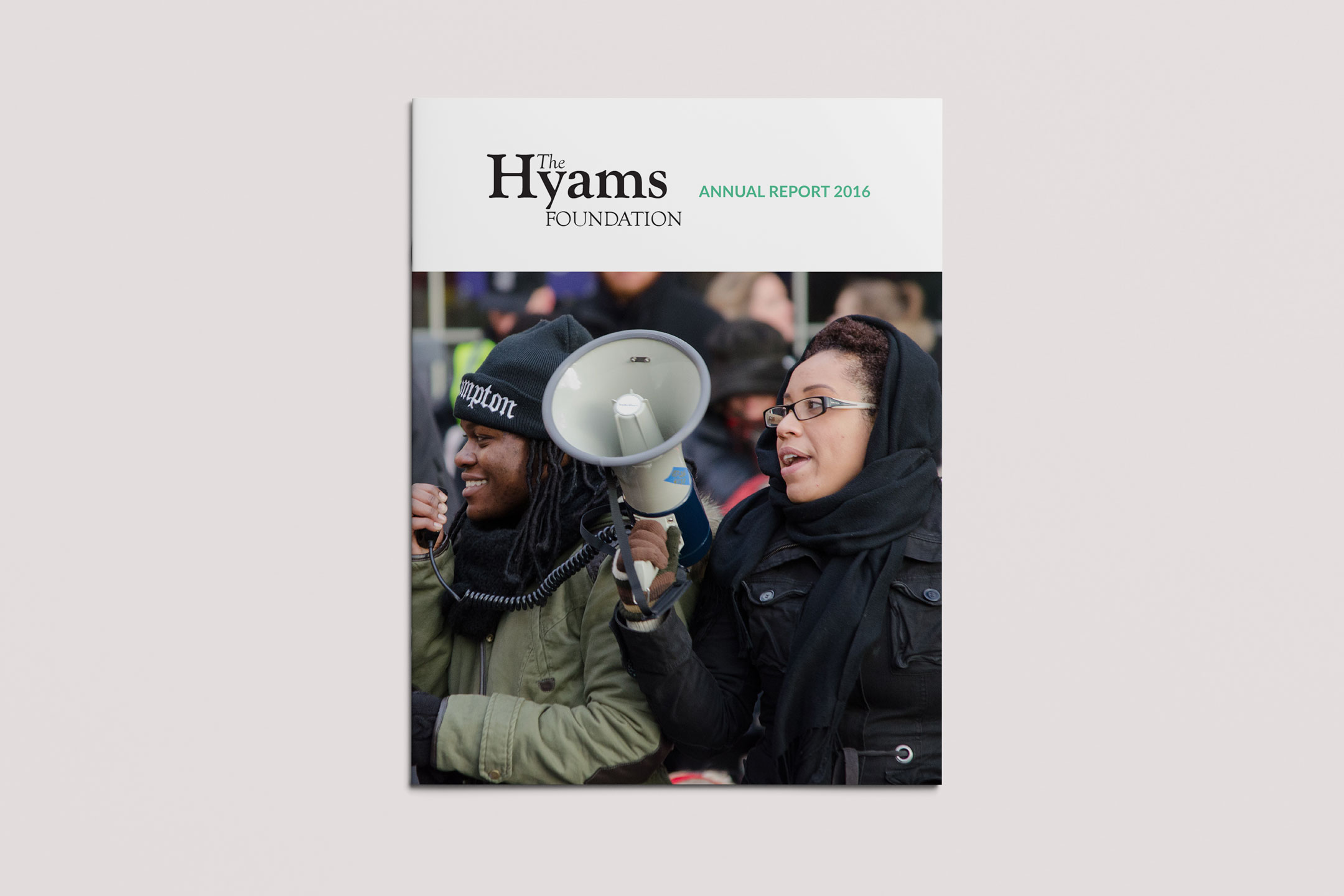 Hyams Foundation Annual Report Cover
