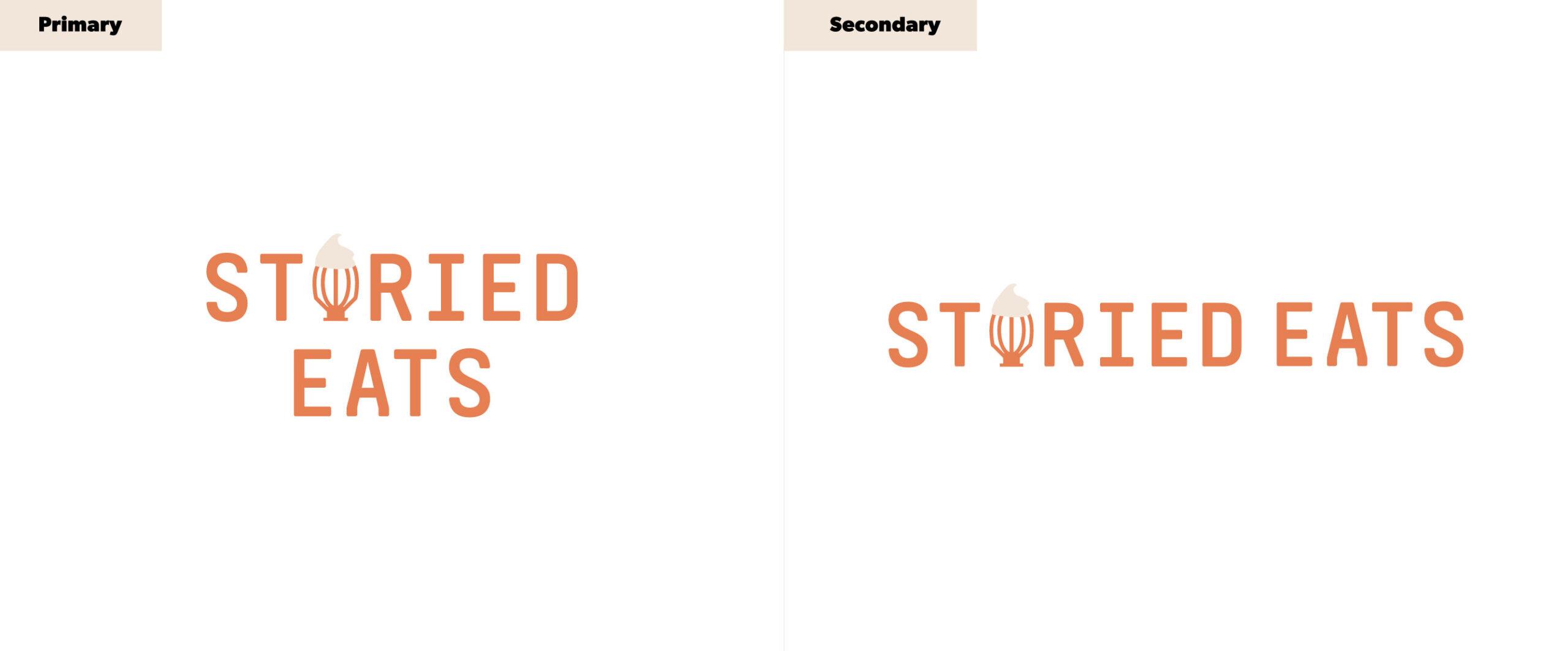 Storied Eats Logo System