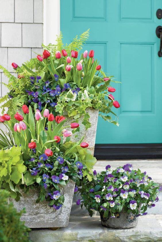 Monday Mood Board: Spring Planters