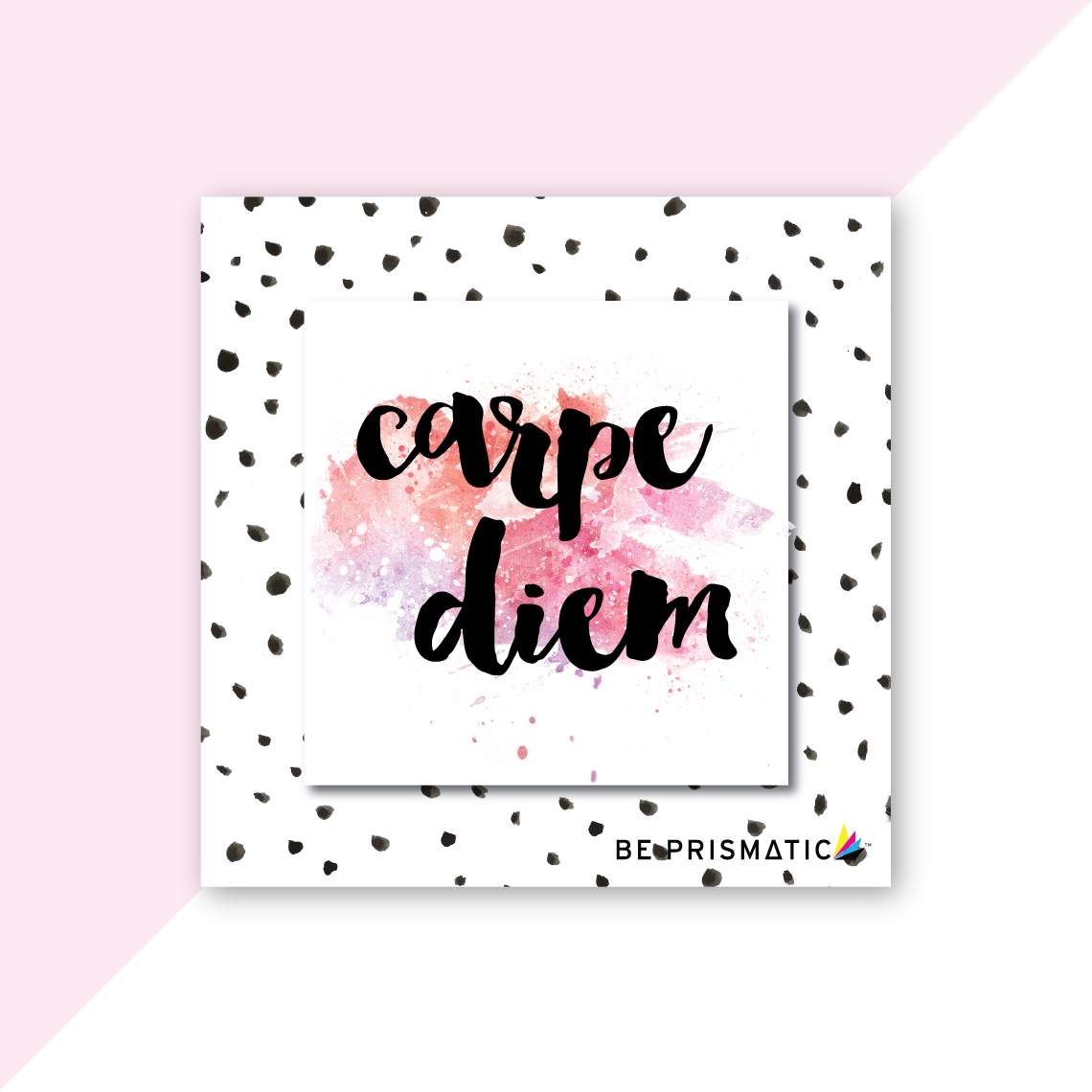 FREEBIE | FREE CARPE DIEM WATERCOLOR PRINTABLE