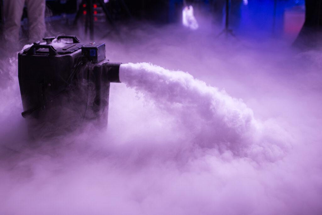 Dry Ice Fog Low Level Cloud