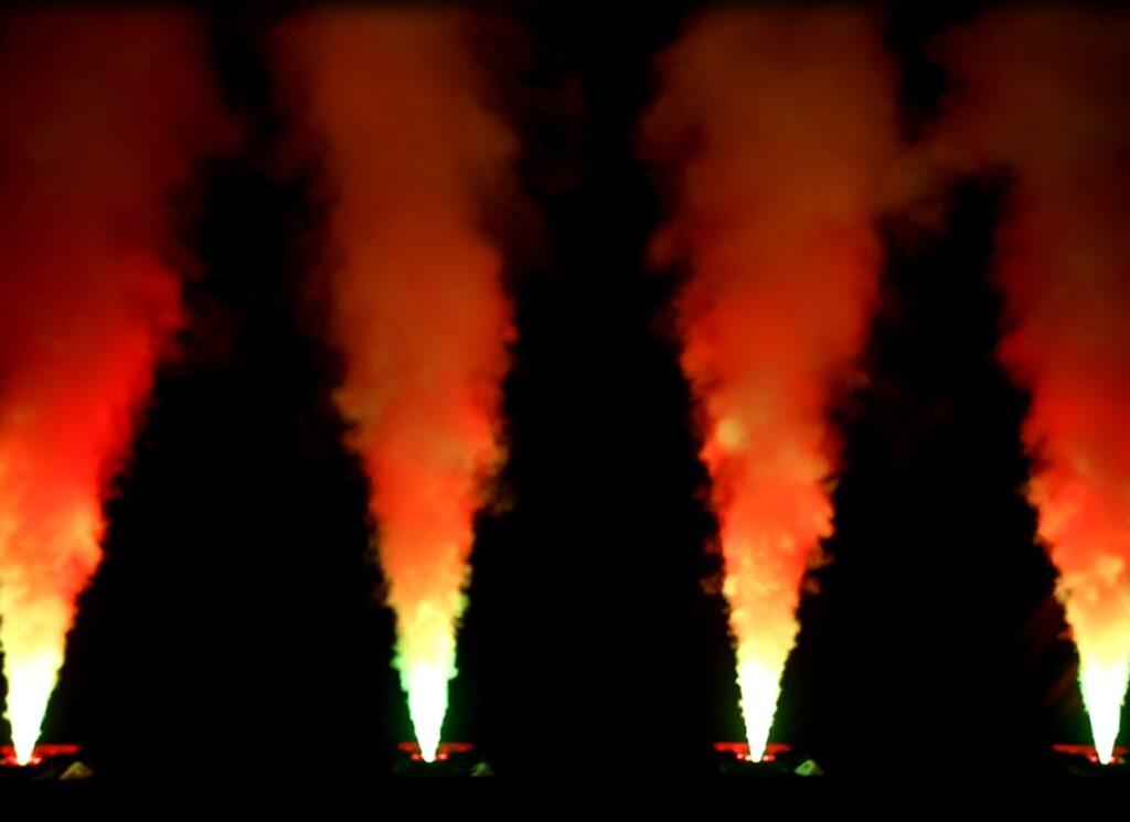 Coloured Smoke Column