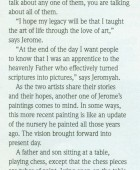 Article: Art Flows Down