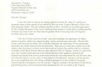 Letter: Gov. Robert McDonnell