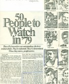 Article: 50 People To Watch in '79
