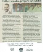Article: Father, Son duo prepare for Exhibit