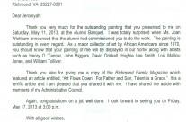 Letter: William R Harvey