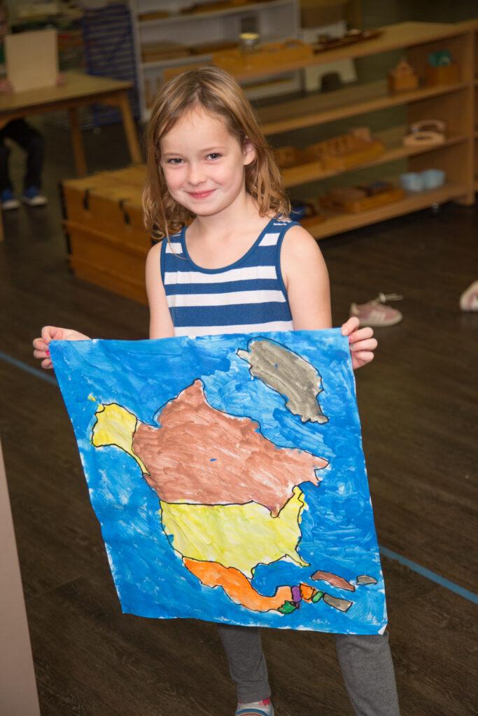 Gemma North America map