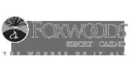 Foxwoods Casino logo gray