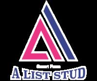 A List Stud Logo