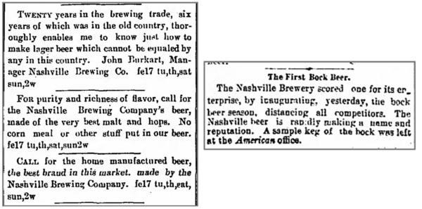 Nashville Bock Beer