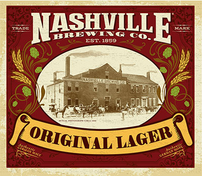 Nashville Original Lager Beer