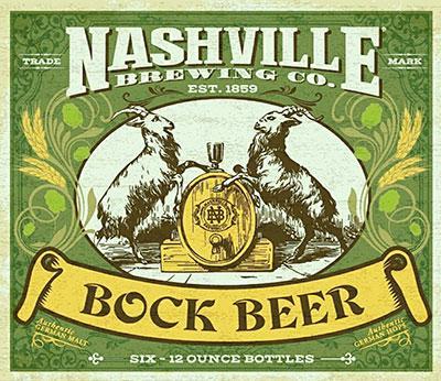 Nashville Brewing Co. Bock Beer