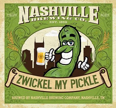 Nashville Brewing Co. Zwickel My Pickle