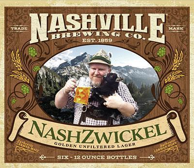 Nashville Brewing Co - NashZwickel Beer