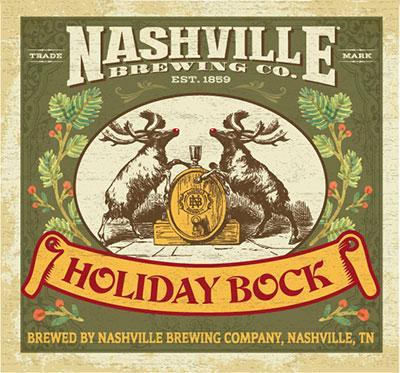 Nashville Brewing Company Holiday Bock Beer