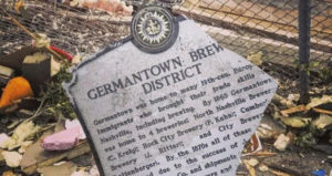 Germantown Brewery District Historical Marker
