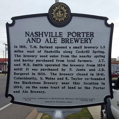 Nashville Porter and Ale Brewery